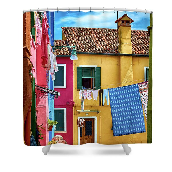 Hidden Magical Alley Shower Curtain