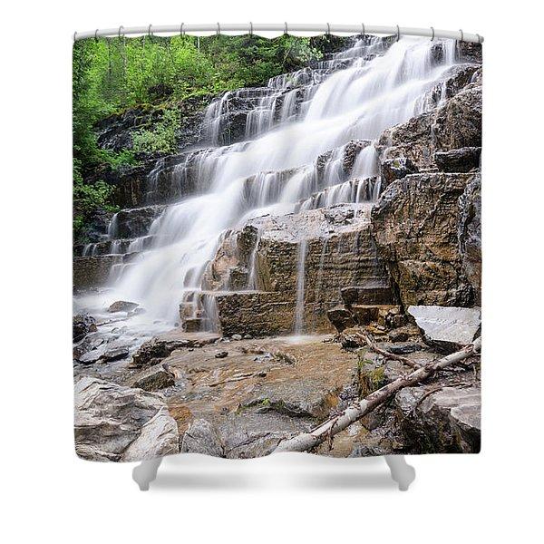 Hidden Waterfalls Shower Curtain