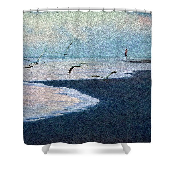 Hide Tide Shower Curtain