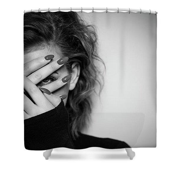 Hiding Shower Curtain