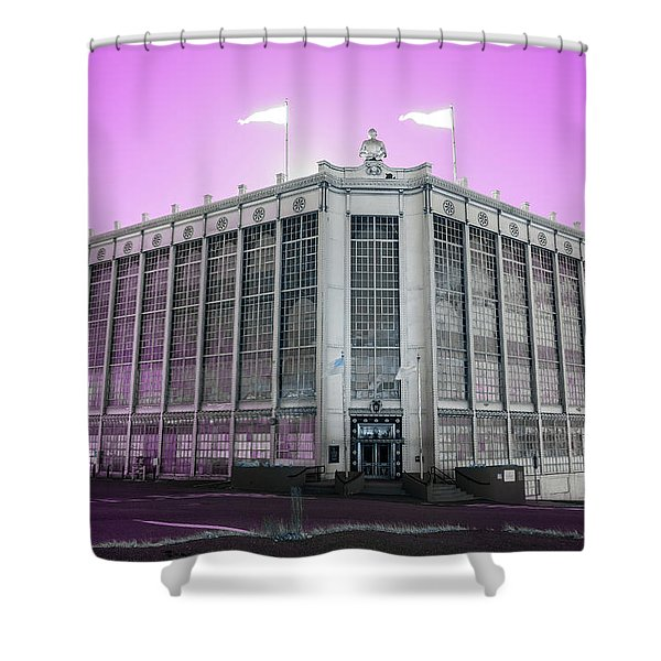 Higgins Armory In Infrared Shower Curtain