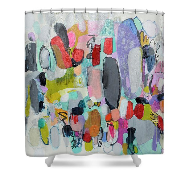 High Above Shower Curtain