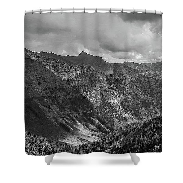 High Country Valley Shower Curtain