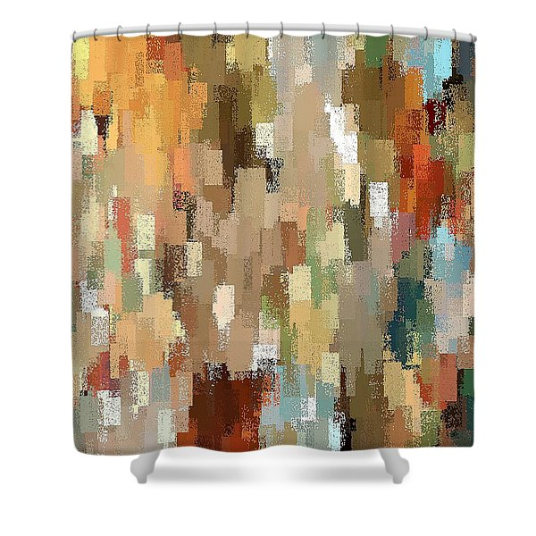 High Desert Living Shower Curtain