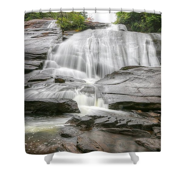 High Falls Of Dupont State Forest Shower Curtain