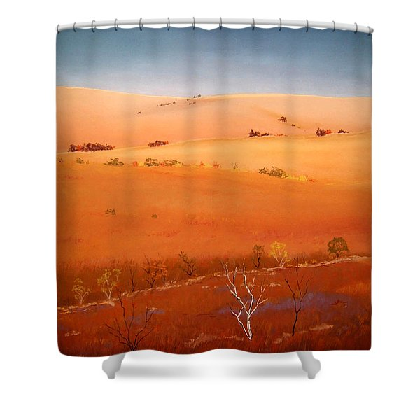 High Plains Hills Shower Curtain
