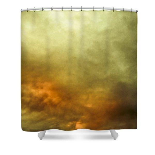 High Pressure Skyline Shower Curtain