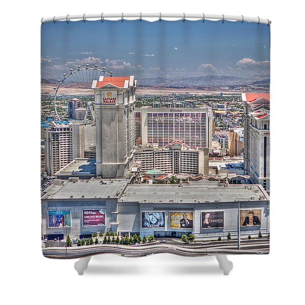 High Roller - Day Shower Curtain