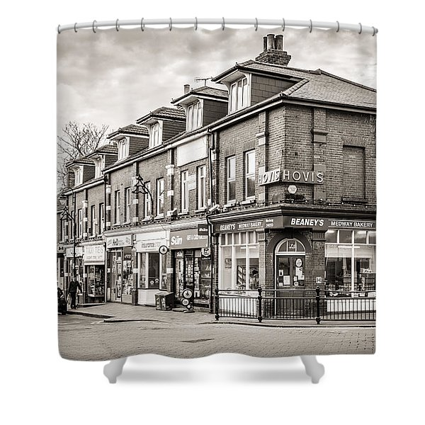 High Street. Shower Curtain