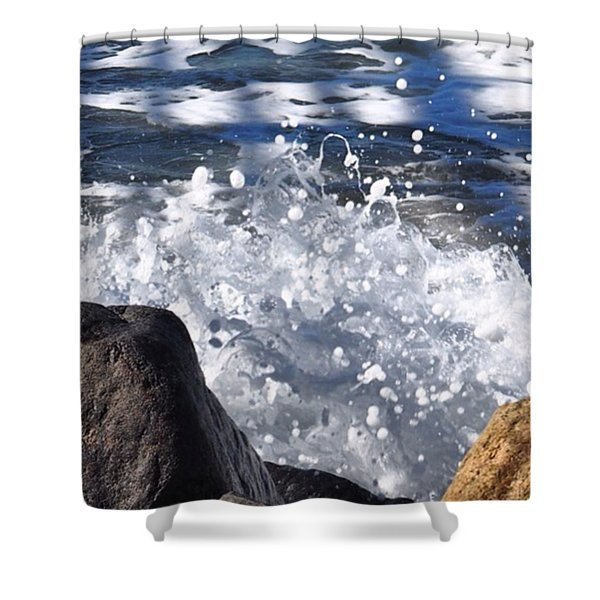 High Tide.  Shower Curtain