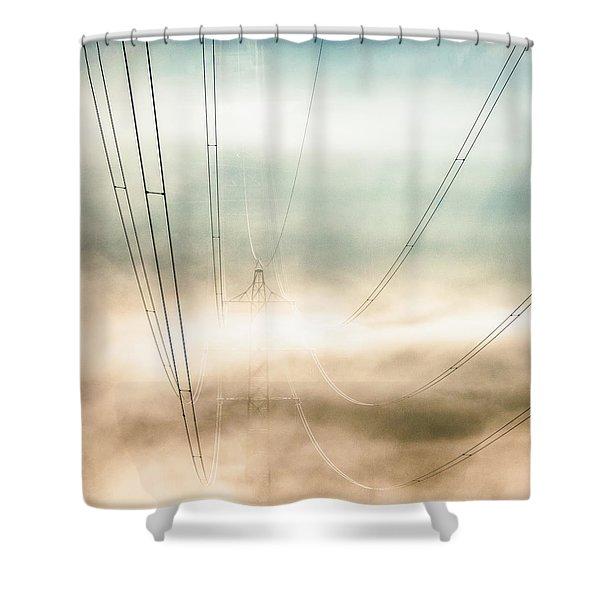 High Voltage Dream Shower Curtain