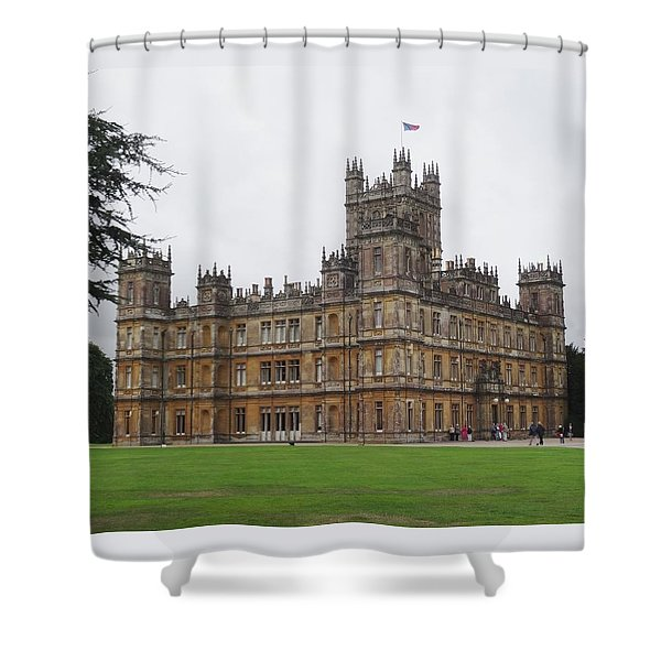 Highclere Castle Shower Curtain
