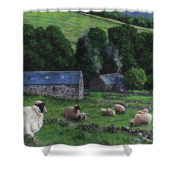 Highland Croft Shower Curtain
