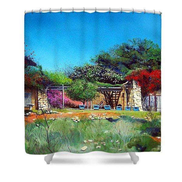 Highveld House Shower Curtain