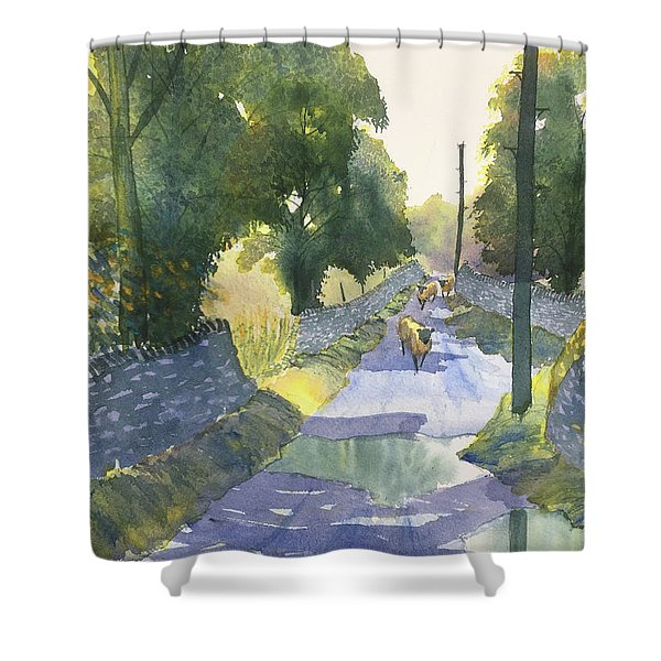 Highway Patrol Shower Curtain