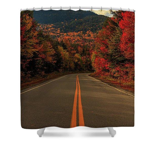 Highway  Shower Curtain