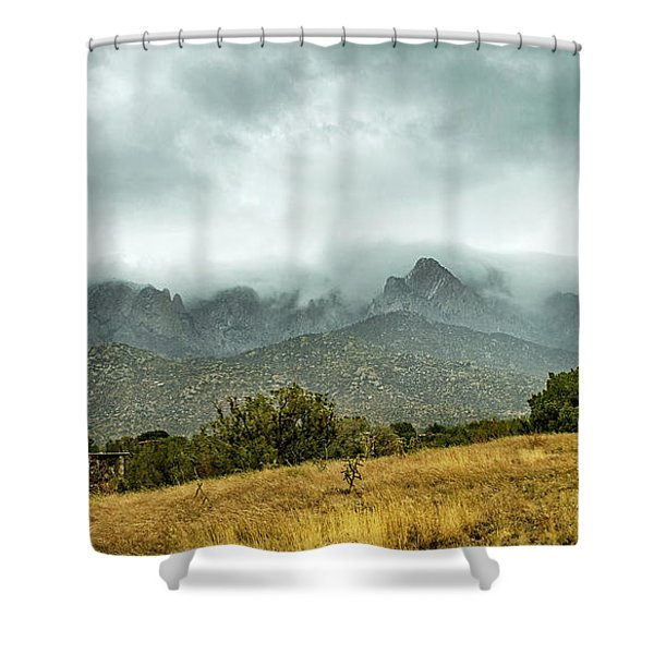 Hike Before The Storm Shower Curtain