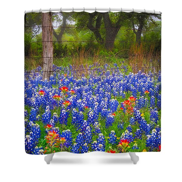 Hill Country Forest Shower Curtain