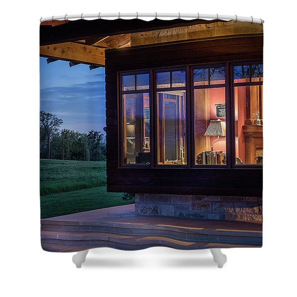 Hill Country Living Shower Curtain