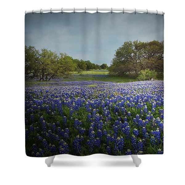 Hill Country Ranch Shower Curtain