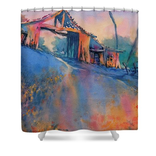 Hill Country Spring No 3 Shower Curtain