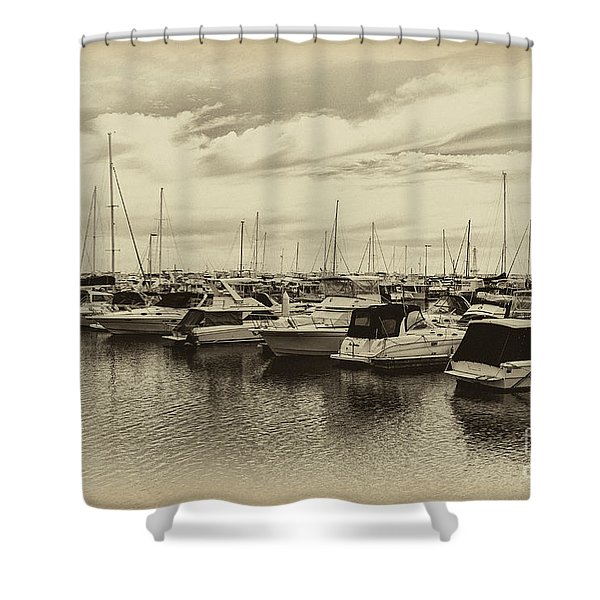 Hillarys Boat Harbour, Western Australia Shower Curtain