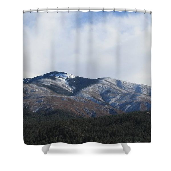 Hills Of Taos Shower Curtain