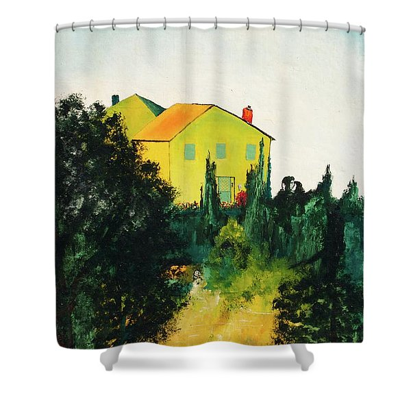 Hillside Romance Shower Curtain