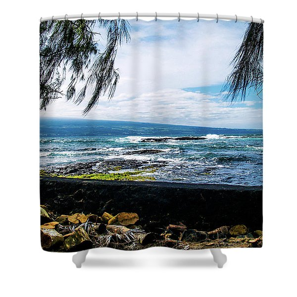 Hilo Bay Dreaming Shower Curtain