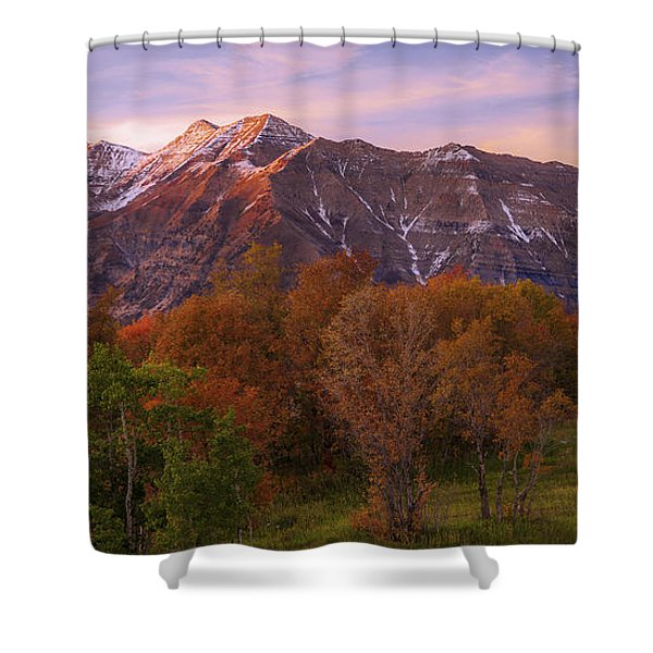 Hint Of Fall Shower Curtain