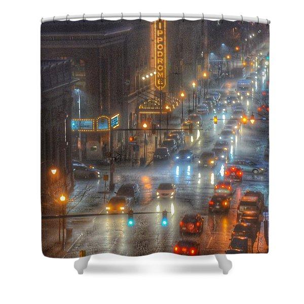 Hippodrome Theatre - Baltimore Shower Curtain