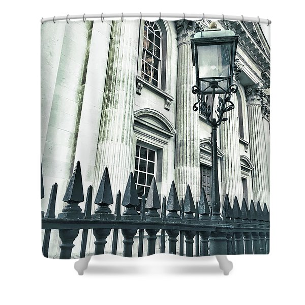 Historic Architecture Detail Shower Curtain
