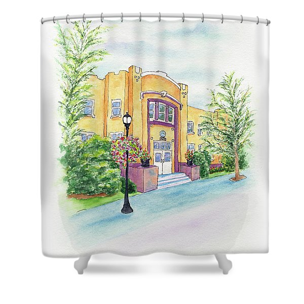 Historic Armory Shower Curtain