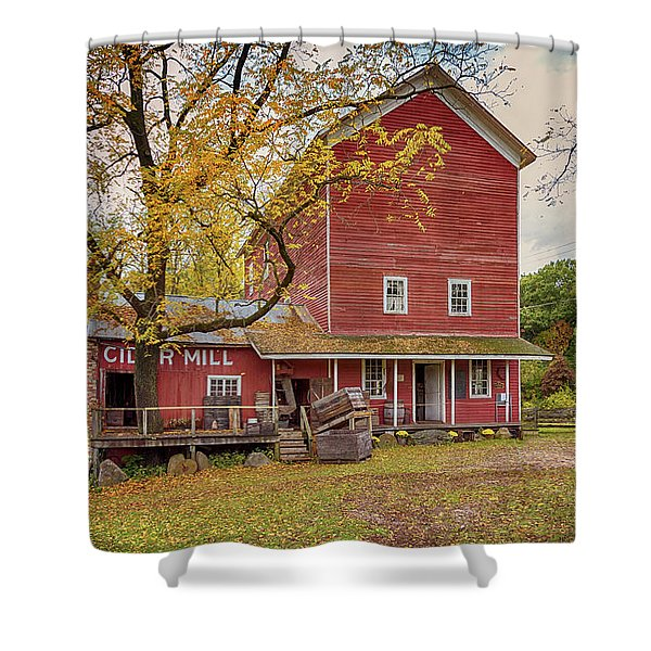 Historic Bowens Mills Shower Curtain