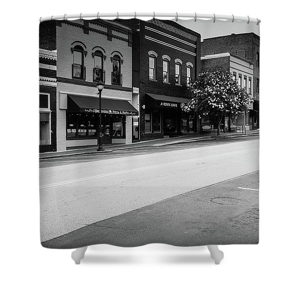 Historic Buford Downtown Area Shower Curtain
