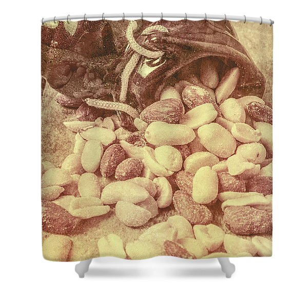 Historic Food Art Shower Curtain