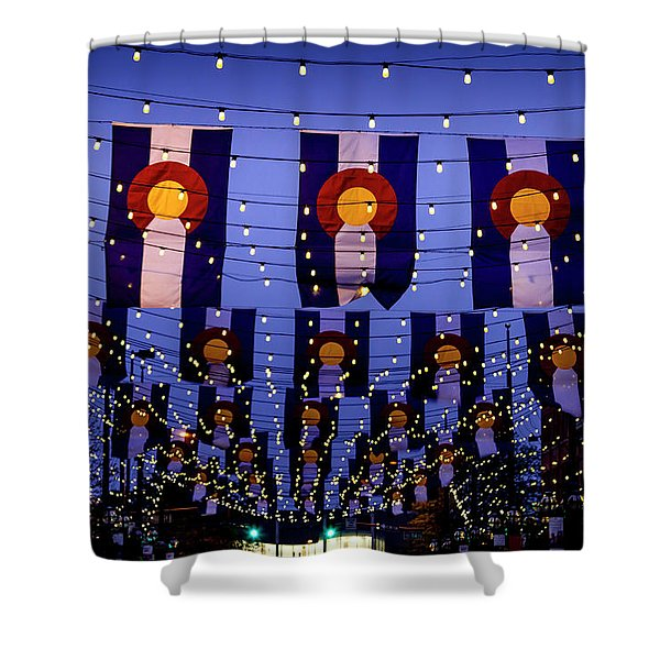 Historic Larimer Square Denver Shower Curtain