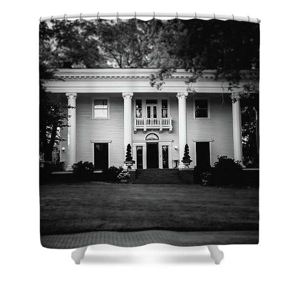 Historic Southern Home Shower Curtain
