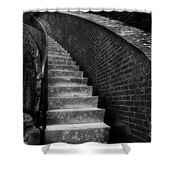 Historic Stairwelll Shower Curtain