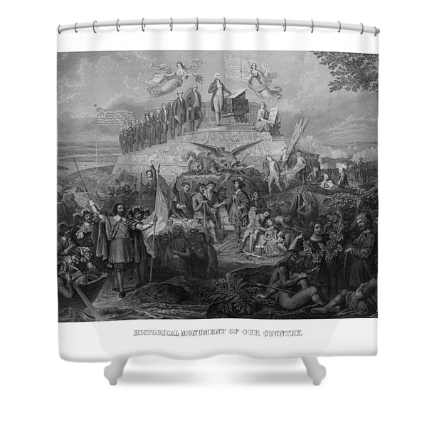 Historical Monument Of Our Country Shower Curtain