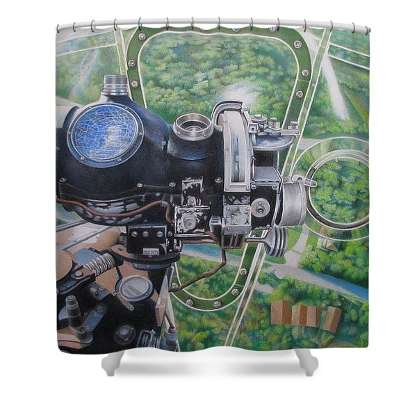 Historical Sight Shower Curtain