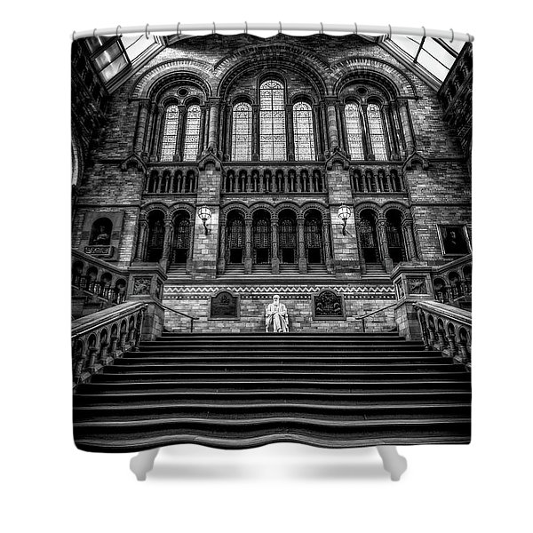 History Museum London Shower Curtain