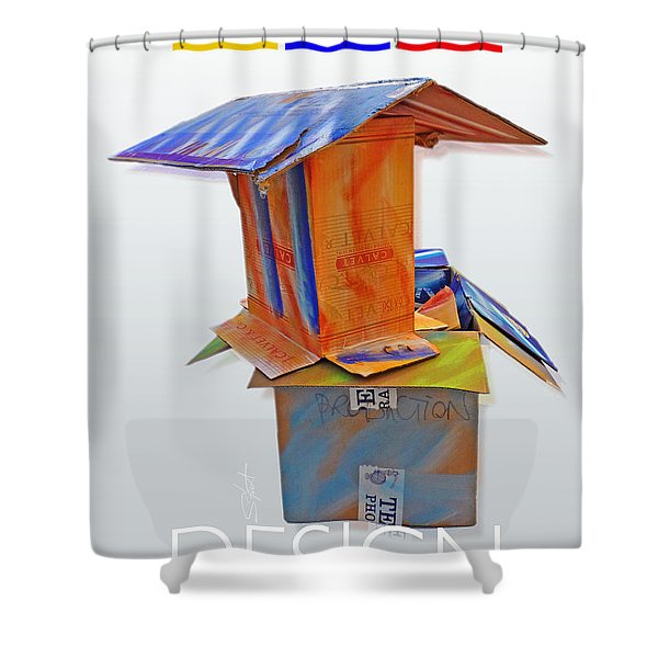 History Of Modern Art Shower Curtain