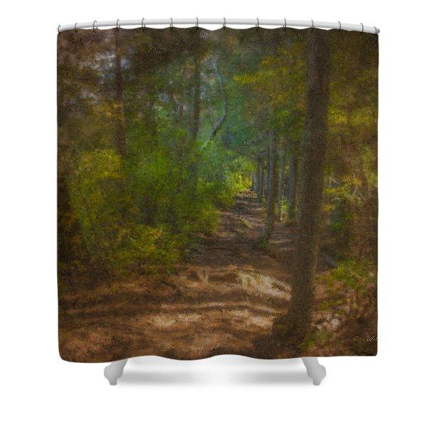 Hobbit Path Shower Curtain