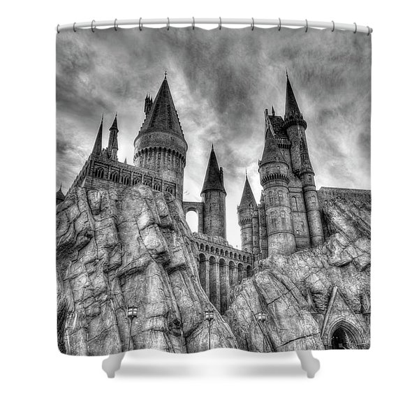 Shower Curtain featuring the photograph Hogwarts Castle 1 by Jim Thompson