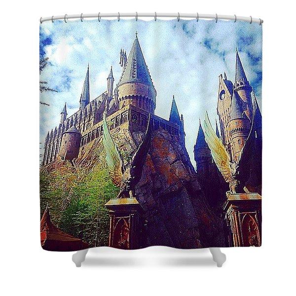 Hogwarts Shower Curtain