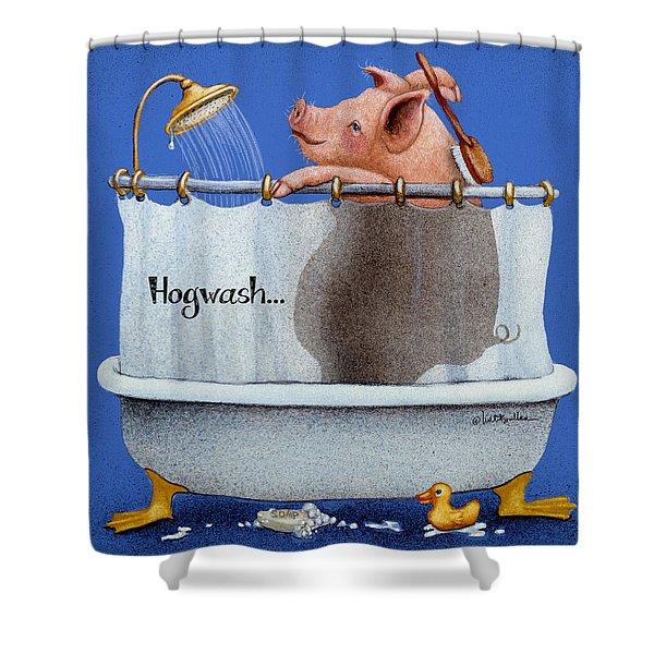 Hogwash... Shower Curtain