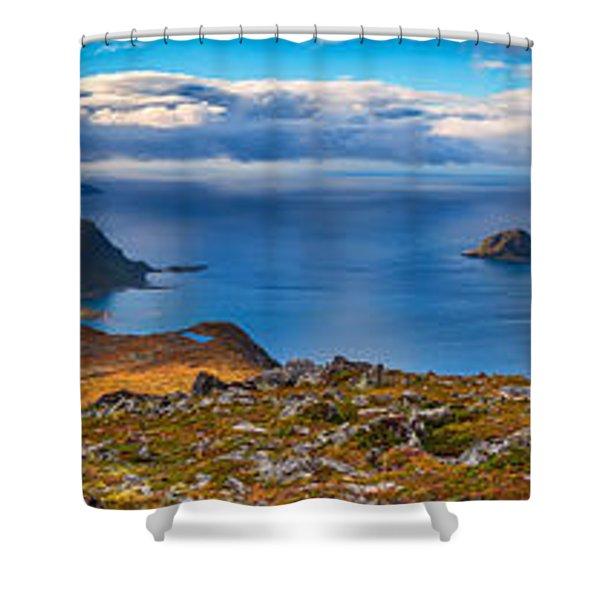 Holandsmelen Panorama Shower Curtain
