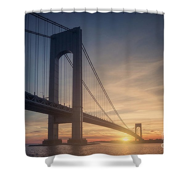 Hold Back The Night Shower Curtain