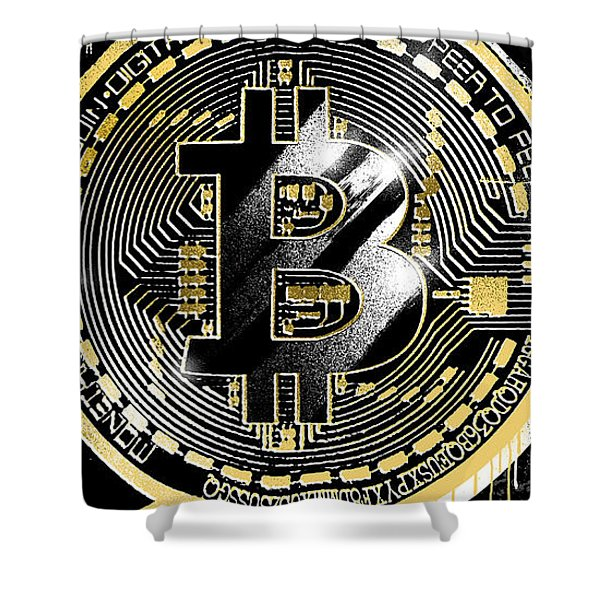 Hold Your Coins Shower Curtain